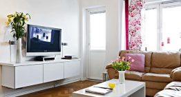 Стилен и Пълен с Идеи Малък Апартамент