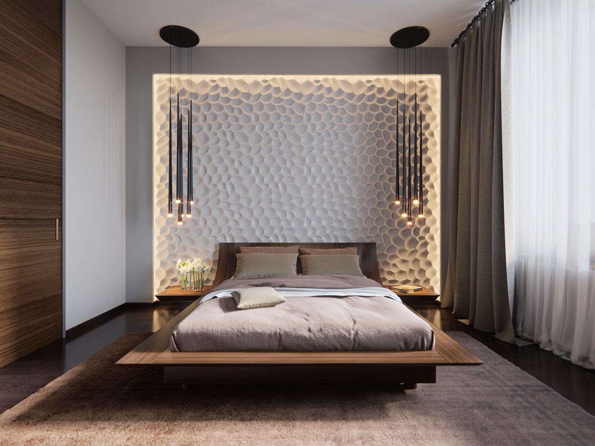 Schlafzimmer Wand Gestalten Ideen: Schlafzimmer wandfarben ideen ...