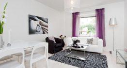 Малък апартамент с романтичен интериор