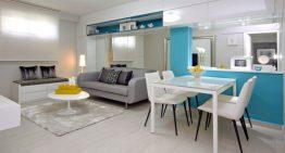 Преди и след : Разкошен апартамент в Сингапур