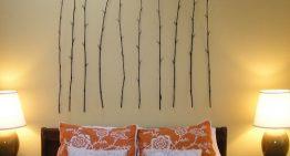 Декорация за стена : Клонки над леглото