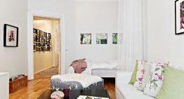 Малък, но просторен апартамент в неутрални цветове