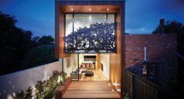 Компактна къща с изящен интериор и екстериор