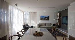 Малък апартамент с хитри идеи за оптимизиране на пространството