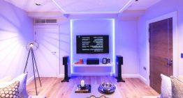 Впечатляващ съвременнен апартамент в Лондон