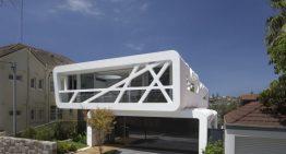Къща с изключително модерна и дръзка архитектура