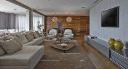 Просторен апартамент с модерен дизайн от Дейвид Гуера