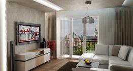 Апартамент в Словакия показва модерен дизайн в неутрални цветове
