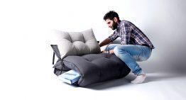Ted Bed – меко легло, удобен фотьойл и модерен пуф в едно