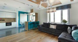 Минималистичен апартамент в Москва със светла и уютна атмосфера
