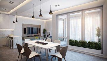 Модерен апартамент в Германия показва зашеметяващ интериор