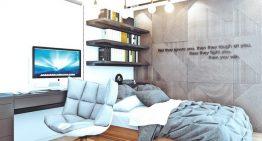 Малък апартамент с топъл и уютен интериор в Русия