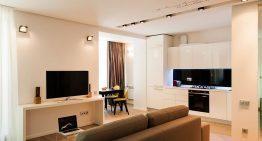 Малък апартамент в Одеса със семпъл, но практичен дизайн