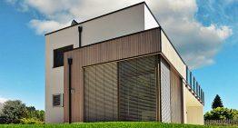 Изискана италианска къща с модерен интериор и екстериор