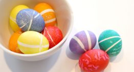 Бърза, лесна и красива декорация за великденските яйца