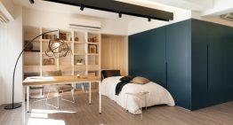 Малък апартамент с креативни идеи за използване на пространството