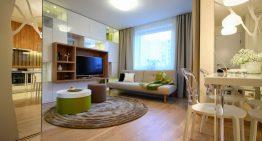 Апартамент 128 в Полша – малки размери, големи идеи