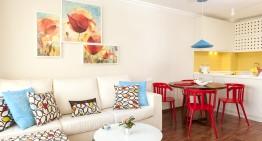 Малък апартамент в София със свеж и удобен интериор (45 м²)
