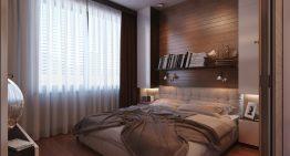 Идеи за обзавеждане и декориране на малка спалня [2014]
