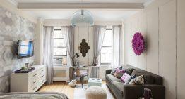 Малък апартамент с удобен и приятен интериор в Манхатън