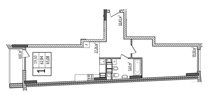 ednostaen-apartament-s-moderen-interior-v-kiev-etajen-plan