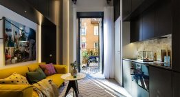 Изключително малък апартамент с уютен и интересен дизайн