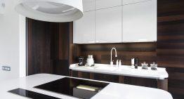 Супер модерна кухня с изчистен и елегантен дизайн