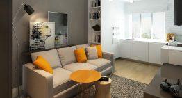 Едностаен апартамент с модерен и изчистен интериор [26 м²]