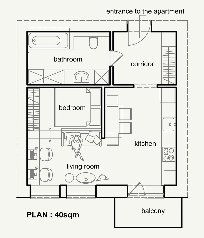 interioren-dizain-na-malak-apartament-prednaznachen-za-mladeji-911g