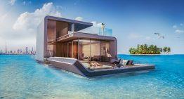 Футуристичен проект за плаващи къщи с подводни спални в Дубай