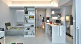 Малък апартамент с гениални идеи за организация на пространството