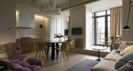 Апартамент със стилен интериор в Киев [50 м²]