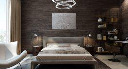 Функционален и стилен проект за спалня в меки цветове