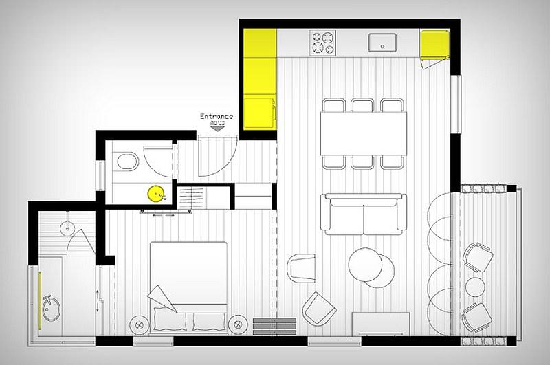 malak-apartament-s-hitri-sistemi-za-spestqvane-na-mqsto-913g