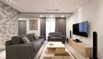 Модерен апартамент със светъл и практичен интериор