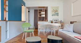Проектът за малък семеен апартамент в Париж
