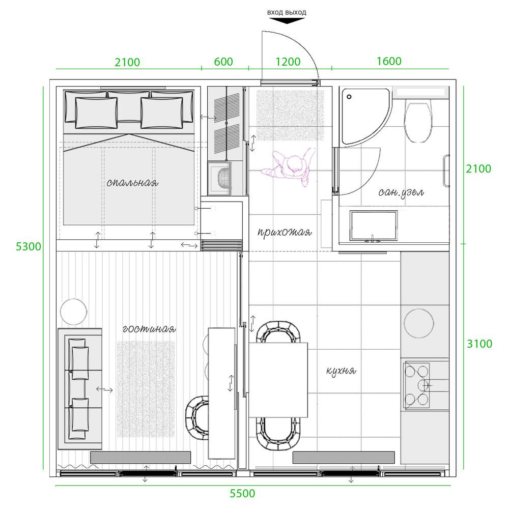 malak-ednostaen-apartament-s-moderen-i-praktichen-interior-914