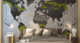 Тинейджърска спалня за мечтатели  [3D проект]
