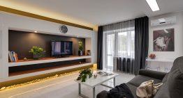 Двустаен апартамент с модерен и практичен дизайн [45 м²]