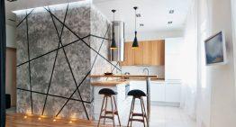 Малко жилище със семпъл и практичен интериор [44 м²]
