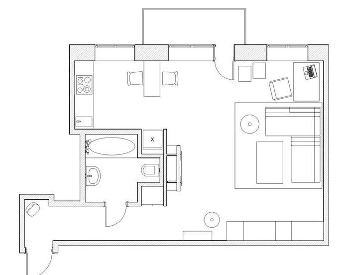 moderen-proekt-za-ednostaen-apartament-v-bqlo-47m-1g