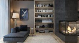 Проект за апартамент с изобилие от естествени материали
