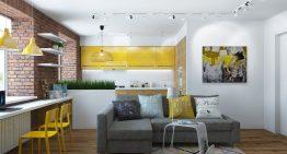 Модерен апартамент със стилен и практичен интериор [65 м²]