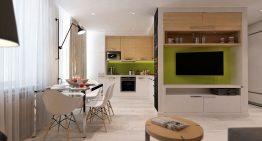 Стилен и модерен интериорен проект за тристаен апартамент
