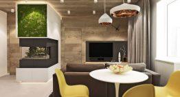 Модерен проект за светъл тристаен апартамент [64 м²]