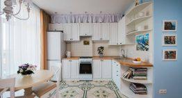 Функционален интериор за малък едностаен апартамент [37 м²]