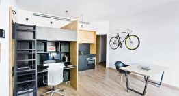 Пълноценно жилище и работно място, събрани в 37 м²