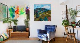 Цветен и функционален интериор за малък семеен апартамент [45 м²]