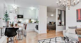 Малък апартамент с интериор в скандинавски стил [41 м²]