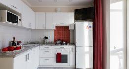 Свеж и практичен интериор на едностаен апартамент [35 м²]